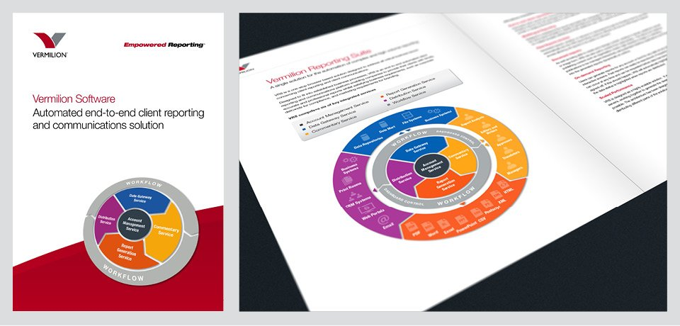 Vermilion Brochure Design