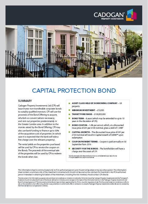 Cadogan Property Factsheet Design