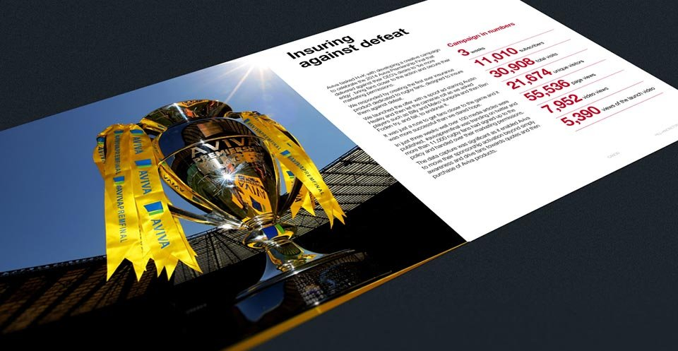 Canon Credentials Brochure Design