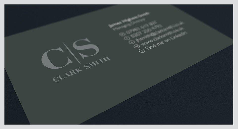 Clark Smith Stationery Design