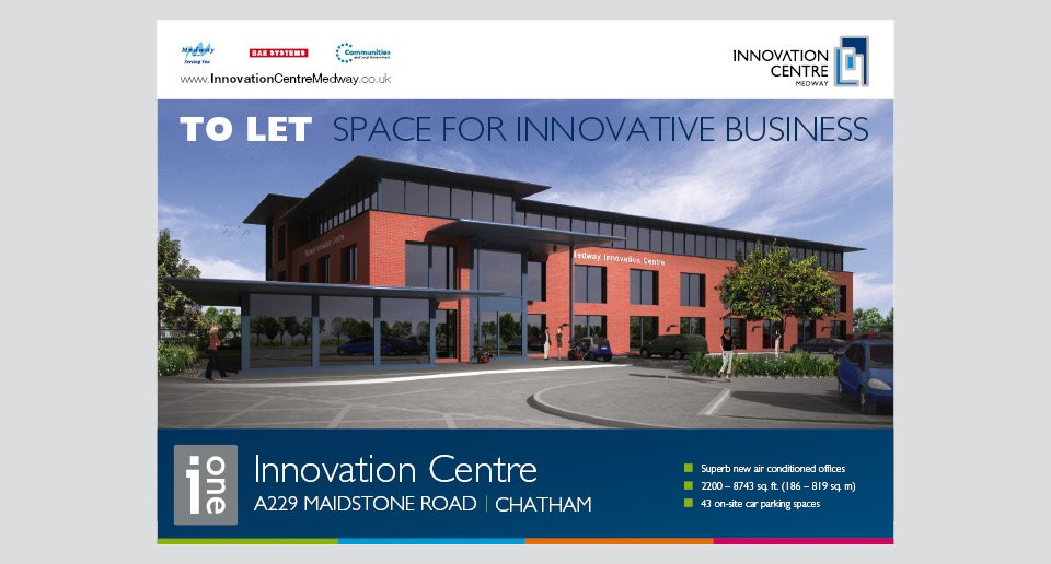 Innovation Centre Flyer Design