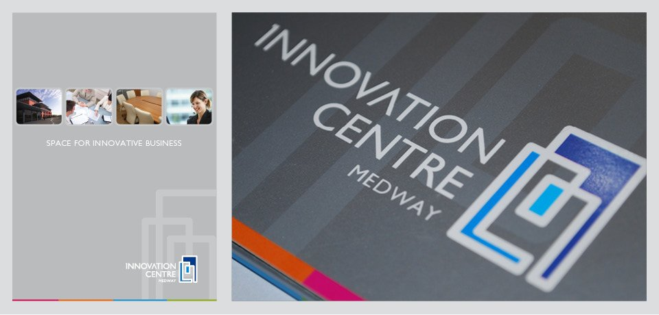 Innovation Centre Brochure Design