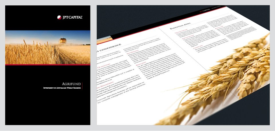 JPT Capital Brochure Design