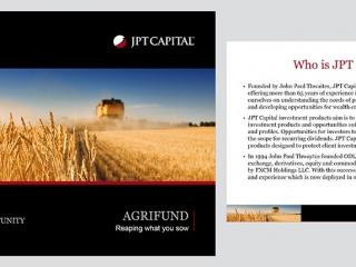 JPT Capital PowerPoint Design